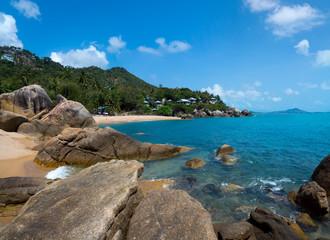Rocky coastline on Samui Island