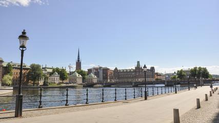 Stockholm, Altstadt, Riddarholm, Sommer, Schweden