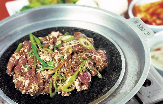 한국의 고기요리