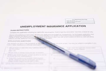 unemployment insurance application