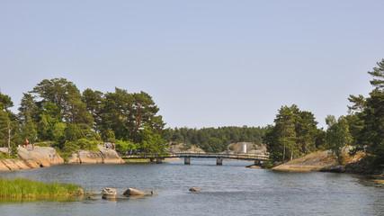 Västervik, Schären, Küste, Badeferien, Sommer, Schweden