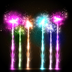firework celebration background