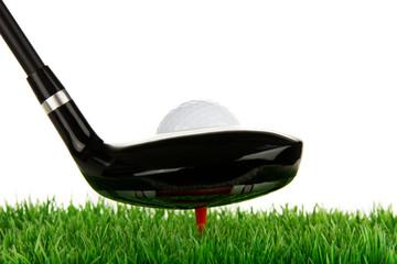 abschlag beim golfspiel