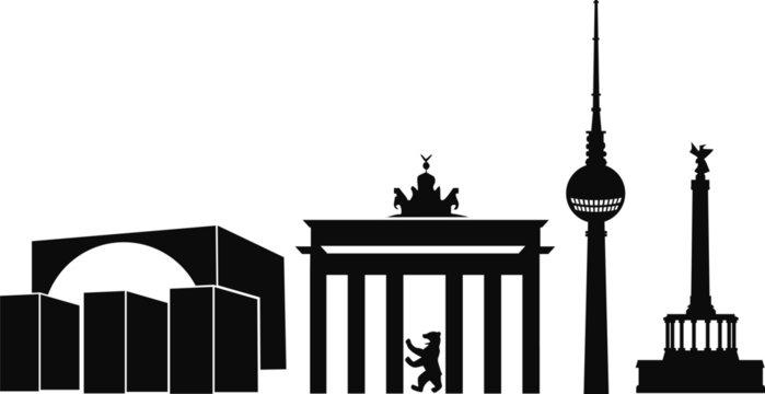 Berlin1_Deutschland_skyline_silhouette