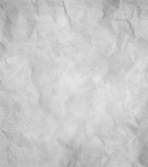 Paper texture - crumpled grey paper