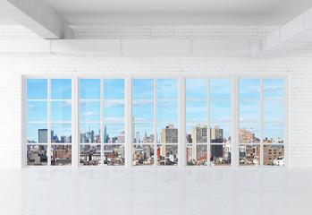 Fototapete - white loft
