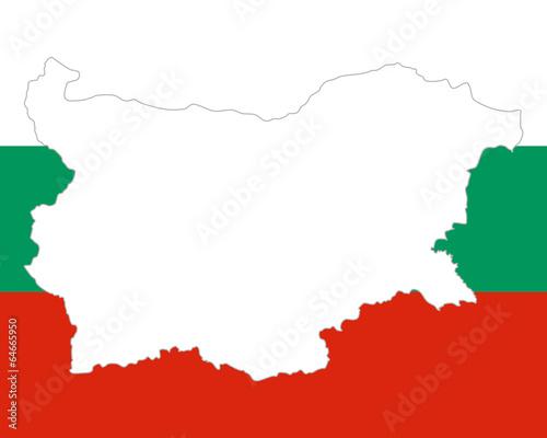 Karte Bulgarien.Karte Und Fahne Von Bulgarien Stock Image And Royalty Free
