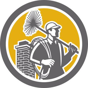 Chimney Sweeper Worker Retro