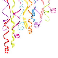 Streamers Color Background