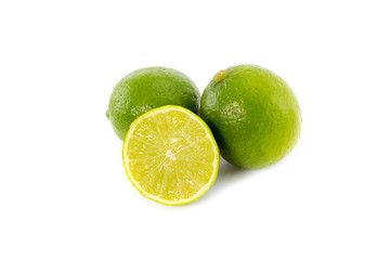 Limes and slice isolated