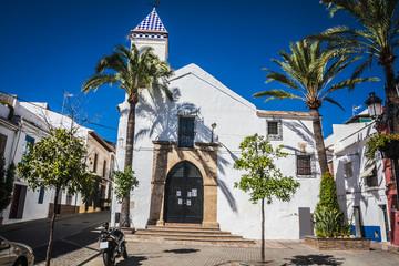 beautiful old city Marbella in Spain