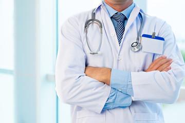 Unrecognizable doctor