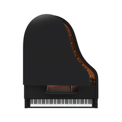 Grand Piano Isolated