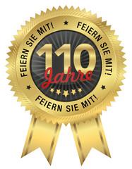 110 Jahre Jubiläum