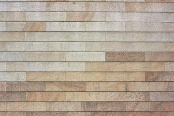 Wall from granite blocks