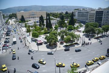 Greek constitution (Syntagma) square