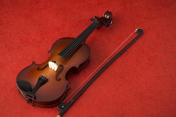 ミニチュアのヴァイオリン