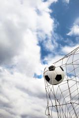 Fototapeta Amazing Soccer football Goal.
