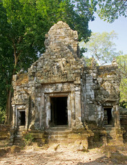 Entrance to one of the old temples