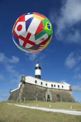 International Football Team Soccer Ball Salvador Brazil