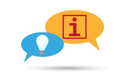 information idea icons