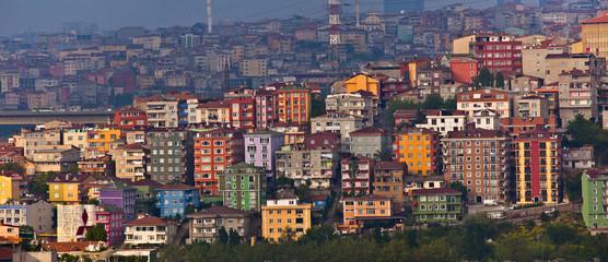 Istanbul Suburb Cityscape