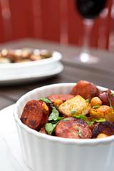 Andouille Sausage Dish