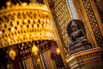 Stone Buddha at Grand Palace - Bangkok, Thailand