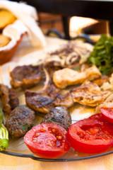 Greek Meat Platter