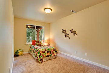 Decorated room for kids