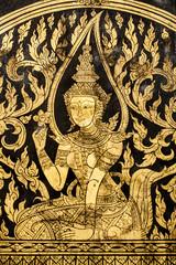 thai style mural
