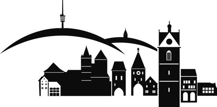 KAISERSTUHL2_deutschland–skyline–silhouette