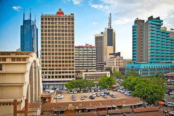 Nairobi, the capital city of Kenya