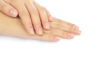 Foto op Canvas Manicure Beautiful female hands