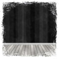 Black, dark, gray grunge background. Old abstract vintage textur