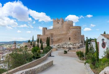 Villena Castle, Alicante Province, Spain