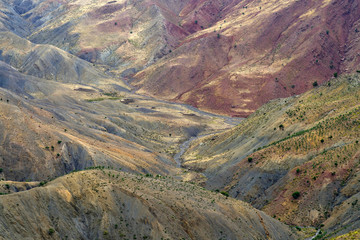 Colors in Atlas Mountains, Morocco, Africa