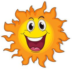 A very happy sun
