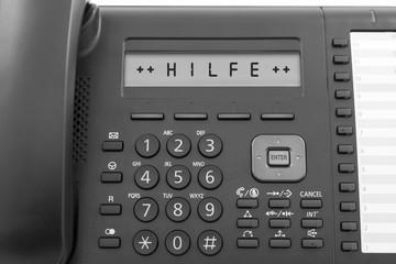 Telefon Hilfe