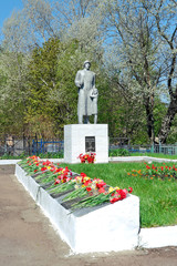monument to the heroes of the Great Patriotic War (1941-1945).