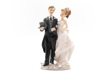 Hochzeit Ehepaar Figur