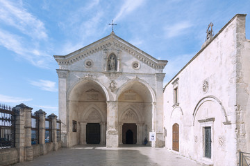 Wall Mural - Apulien, Gargano, Monte Sant' Angelo, Santuario di San Michele
