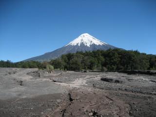 Vulkan Patagonien