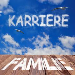 Anzeige Familie - Karriere