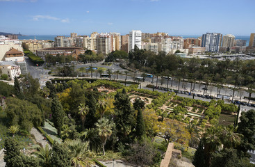 Malaga Spian Cityscape Day
