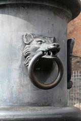 Rome - Poignée tête de louve