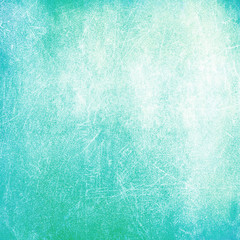 Cyan distressed background texture