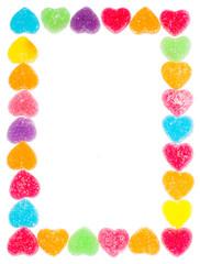 Heart jelly frame