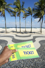 Tickets to Football Soccer Event in Copacabana Rio Brazil