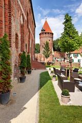 Schloss Tangermünde mit Gefängnisturm